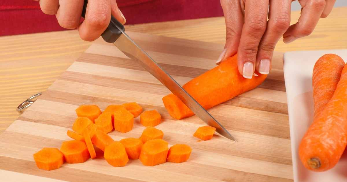 Chop and prep your fruits and vegetables for juicing